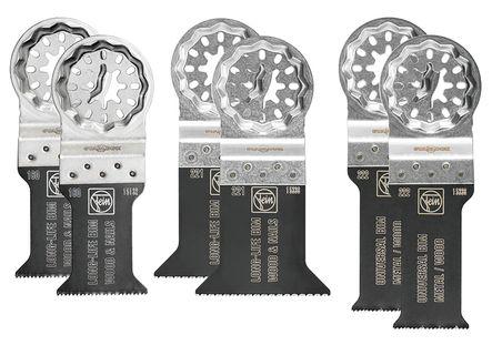 Set 6 lames E-Cut Starlock