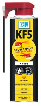 Dégrippant lubrifiant KF5 double spray
