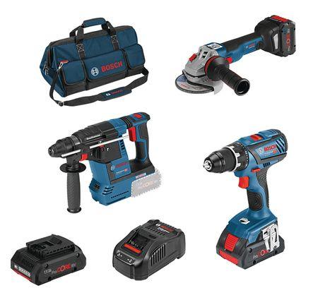 Lot 3 outils 18V PROCORE + 3ème batterie offerte
