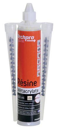 Lot de 12 cartouches de résine métacrylate + 1 pompe soufflante