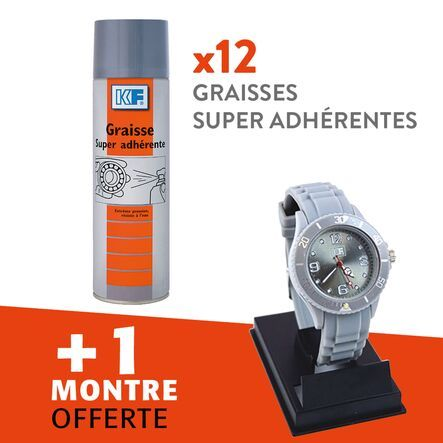 Lot graisse super adhérente
