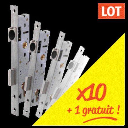 lot 10 pênes dormants 1/2 tour / 1 point / série 2260 + 1 gratuit