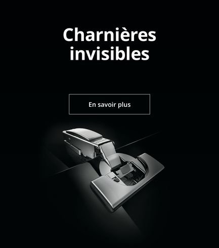 Charnières invisibles